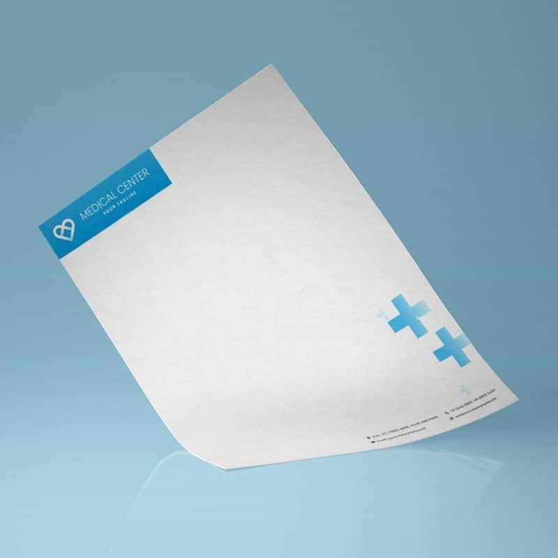 Printspot Hospital Stationery - Letterheads