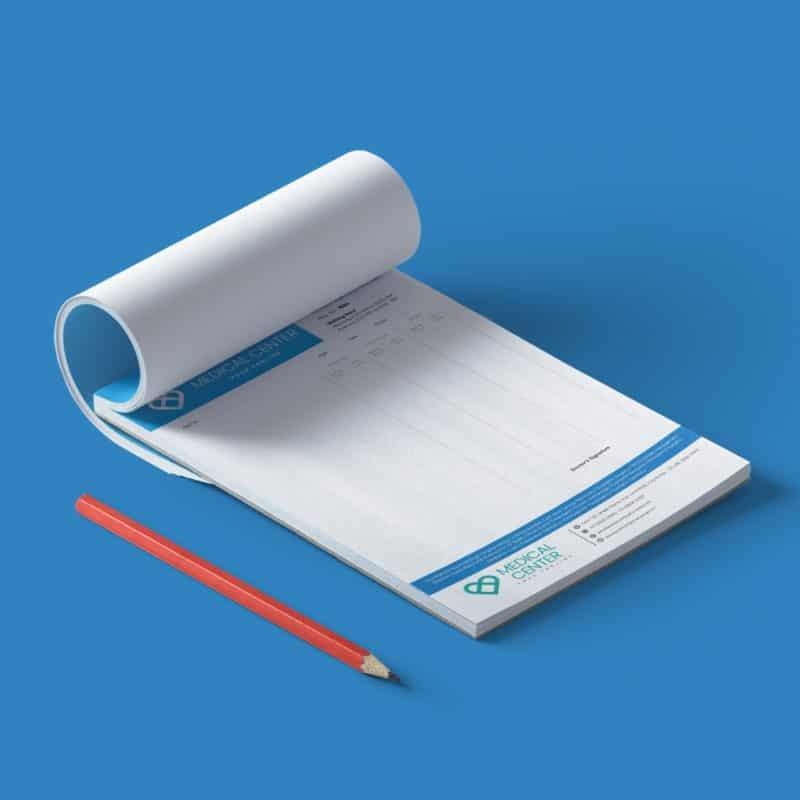 Printspot Hospital Stationery - Prescription Pads