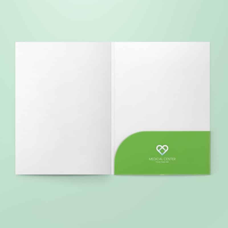 Printspot Hospital Stationery - Folders